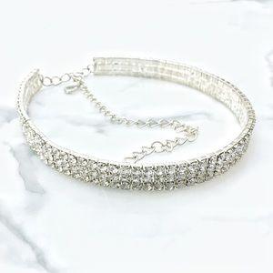 Jewelry - Rhinestone Collar Choker